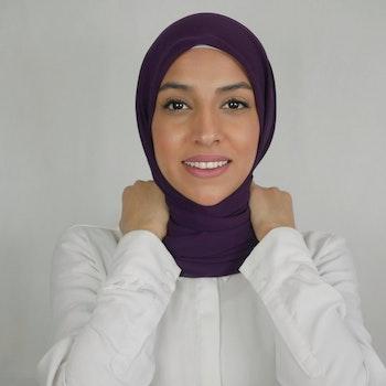 AZALEA - KVADRAT - Chiffong hijab