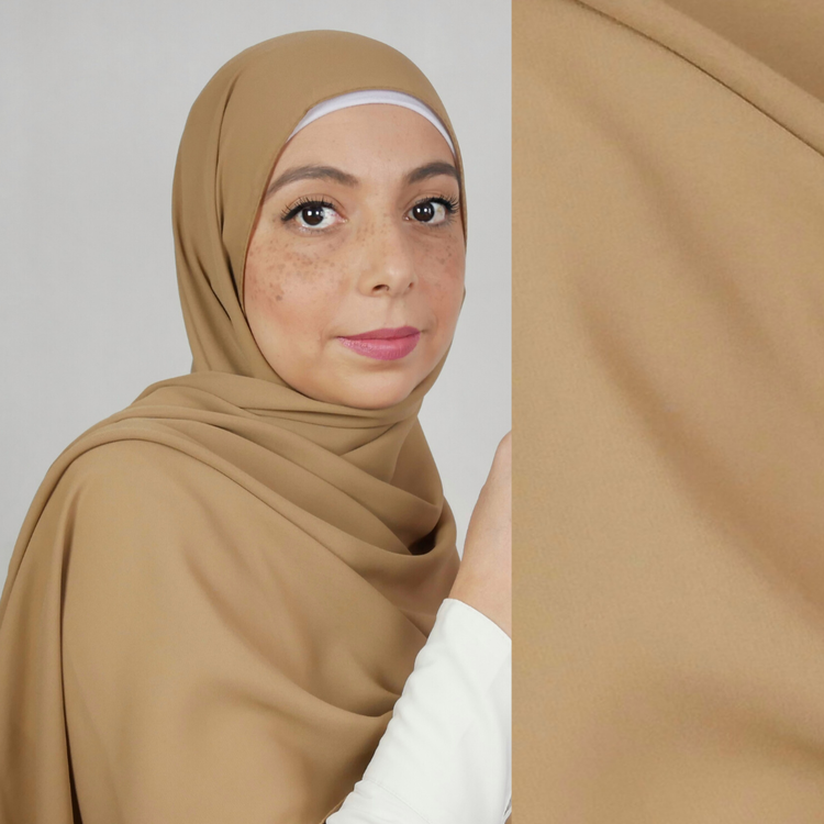 AZALEA - Lux crêpe chiffong hijab