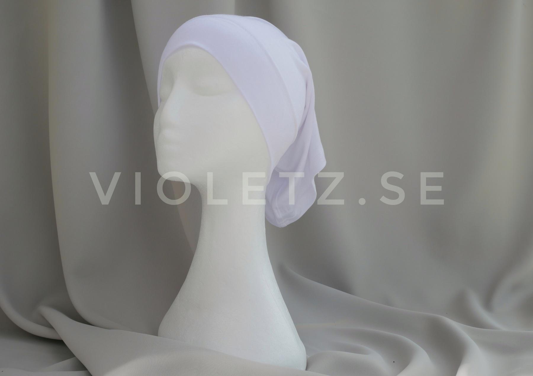 Klassisk undersjal - Jersey bomull vit