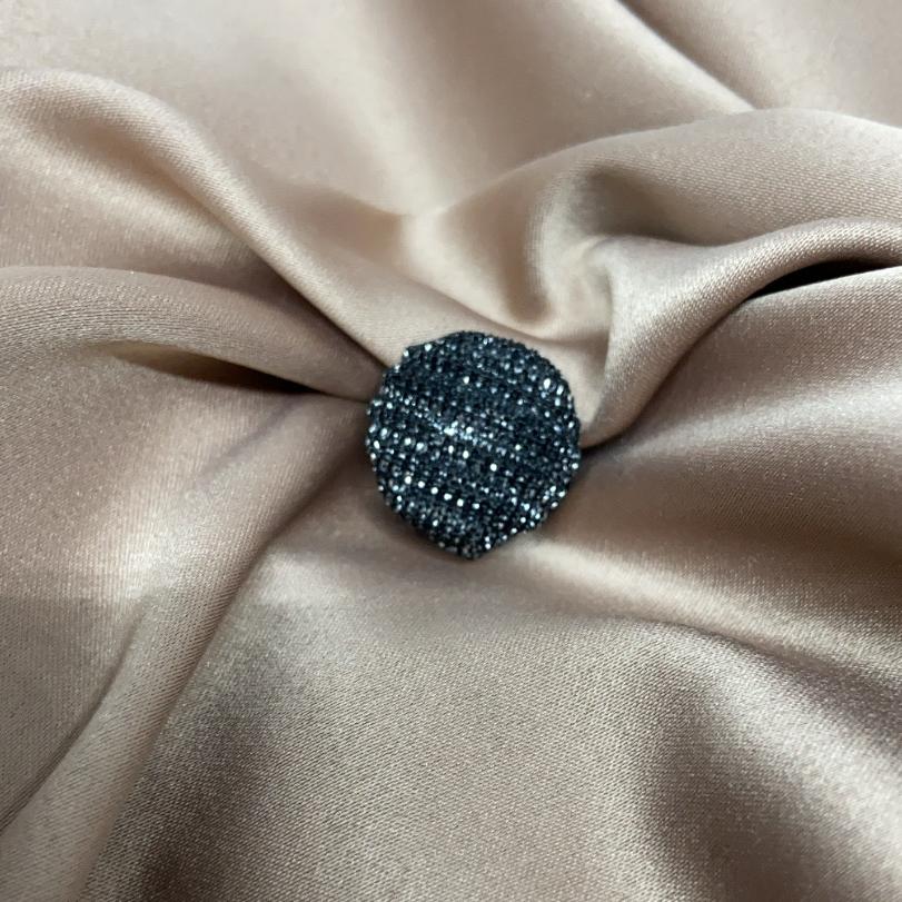 Hijab magnet - svart/silver