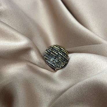 Hijab magnet - svart/guld