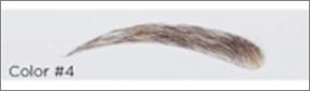 DIMPLES Lösögonbryn i äkta hår, style 12