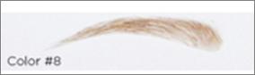 Lösögonbryn i äkta hår, style 15