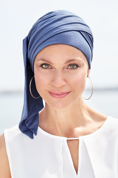BELLE MADAME Turban med scarf