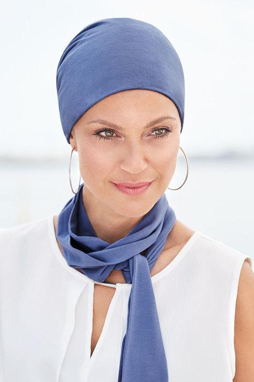 Turban med scarf