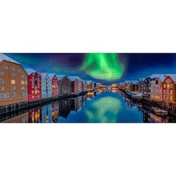 Canvas Tavla Northern Lights 60X150