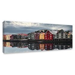 Canvas Tavla Trondheim 60X150