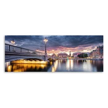 Canvas Tavla Stockholm 60X150