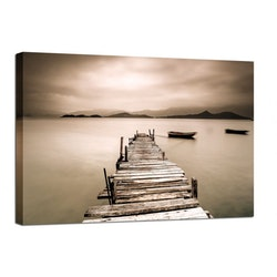 Canvas Tavla Brygga 75X100
