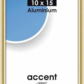 Accent Ram aluminium med glas