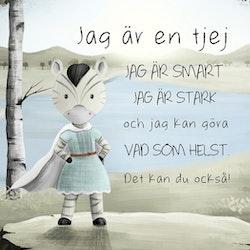 AstoLuina - Var en superhjälte! ( Konsttryck / Poster )