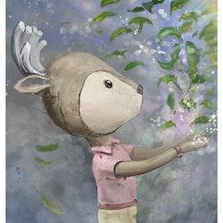 VaniMeli - Find the magic inside of you ( Konsttryck / Poster )