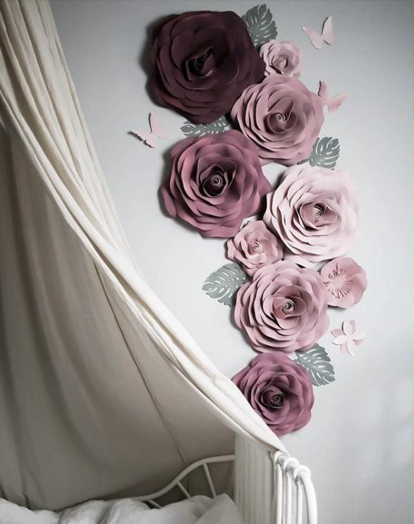 Blomuppsättning lyx