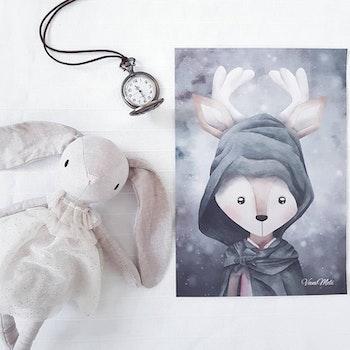 VaniMeli - Mystisk magi ( Konsttryck / Poster )