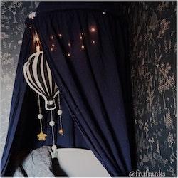 Sänghimmel - Royal Blue