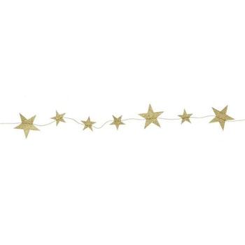 Stjärngirlang - frostade i Roseguld (ej vanlig guld)
