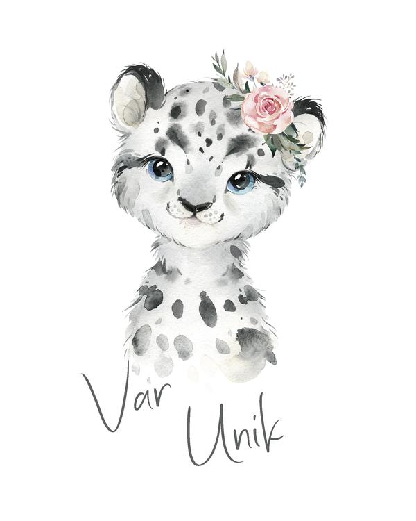 Snöleopard - Var unik
