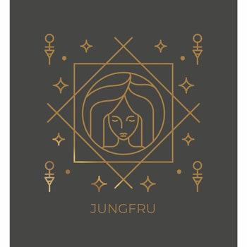 Stjärntecken - Jungfru ( Konsttryck / Poster )