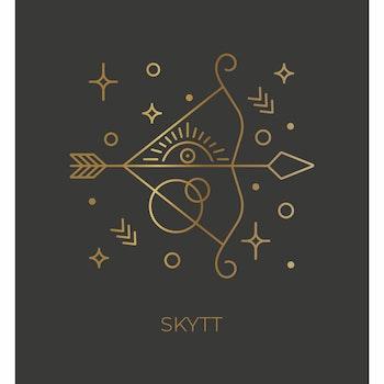 Stjärntecken - Skytt ( Konsttryck / Poster )