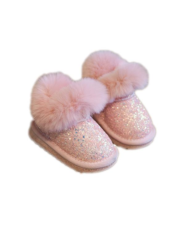 Sneaker Glitter - Rosa