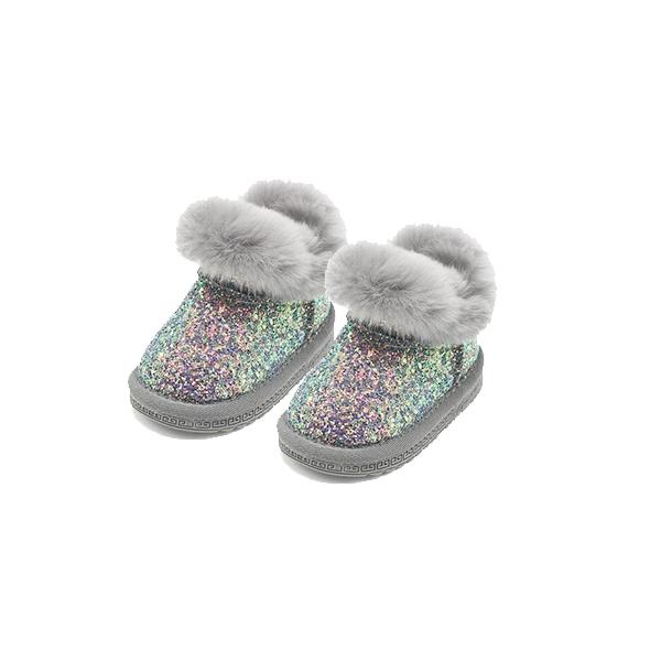 Sneaker Glitter - Silver