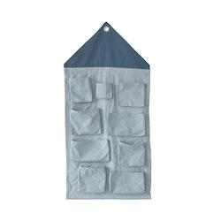 Väggförvaring - Gråblå