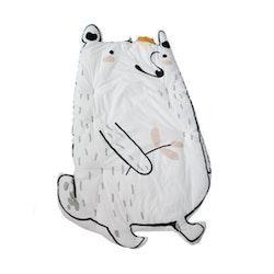 Tjockare Golvmatta - Isbjörn