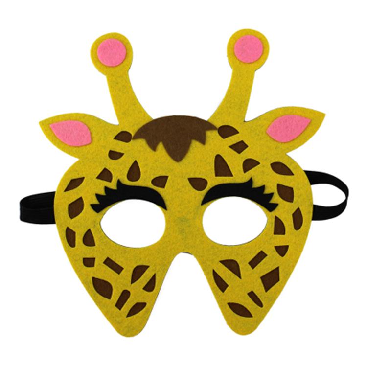 Ansiktsmask- Giraff