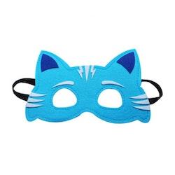 Ansiktsmask- Blå Katt