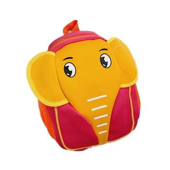 Ryggsäck Elefant- Röd