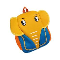 Ryggsäck Elefant - Ljusblå