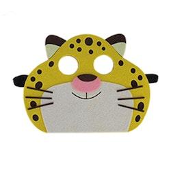 Ansiktsmask- Leopard