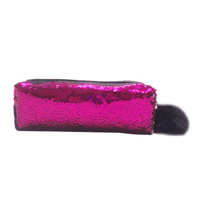 Pennfodral Glitter - Rosa