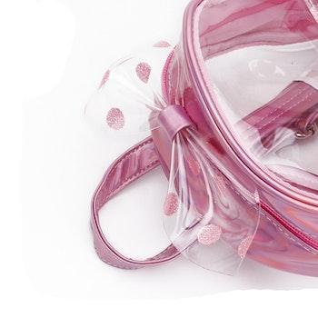 Ryggsäck Genomskinlig - Ljusrosa