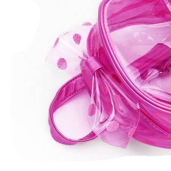 Ryggsäck Genomskinlig - Rosa