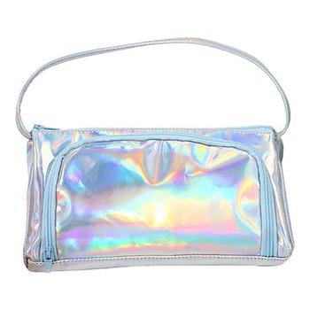 Pennfodral väska - Silver