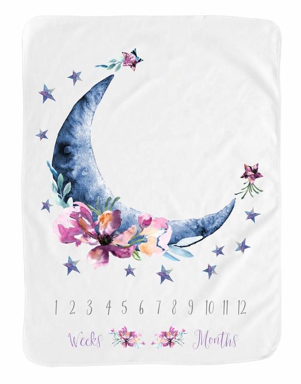 Milestone Blanket- Halvmåne