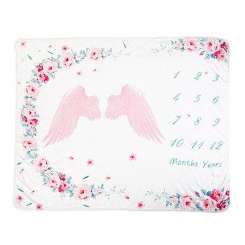 Milestone Blanket- Ängel