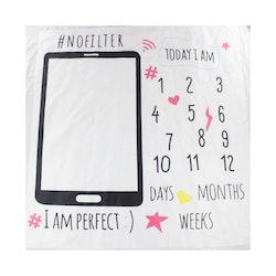 Milestone Blanket- Telefon