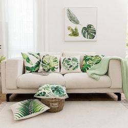 Kuddfodral Natur - Palmblad