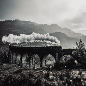 Poster/Konsttryck - Järnvägsbro