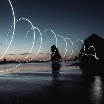 Poster/Konsttryck - Surrealistiskt Ljus