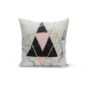 Kuddfodral Marmor - Trianglar