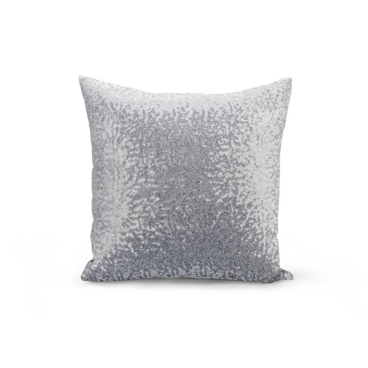 Kuddfodral Paljett- Silver