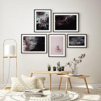 Poster/Konsttryck - Mörk himmel