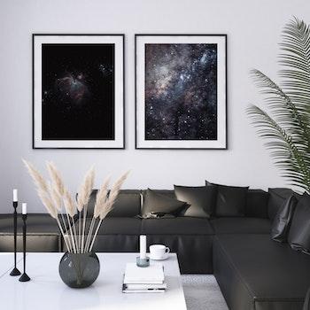 Poster/Konsttryck - Rymd m. Galax