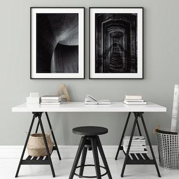 Poster/Konsttryck - Mörk Korridor