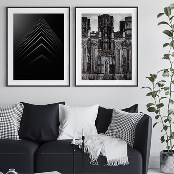 Poster/Konsttryck - Trianglar