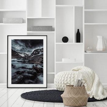 Poster/Konsttryck - Magiska bergen