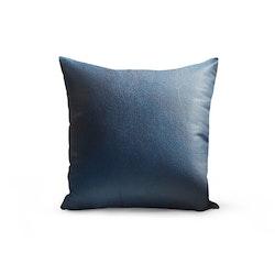 Kuddfodral konstläder - Blå